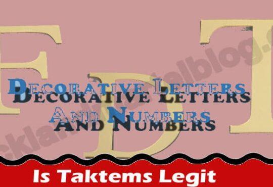 Is Taktems Legit (June) What Are Taktems Review